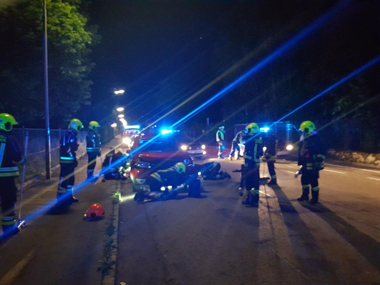 vu salzburger 24.05 2 - Verkehrsunfall Salzburgerstraße
