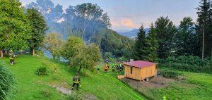 brandoberhaus 220720 5 300x142 - Brand Gartenhütte Oberhaus